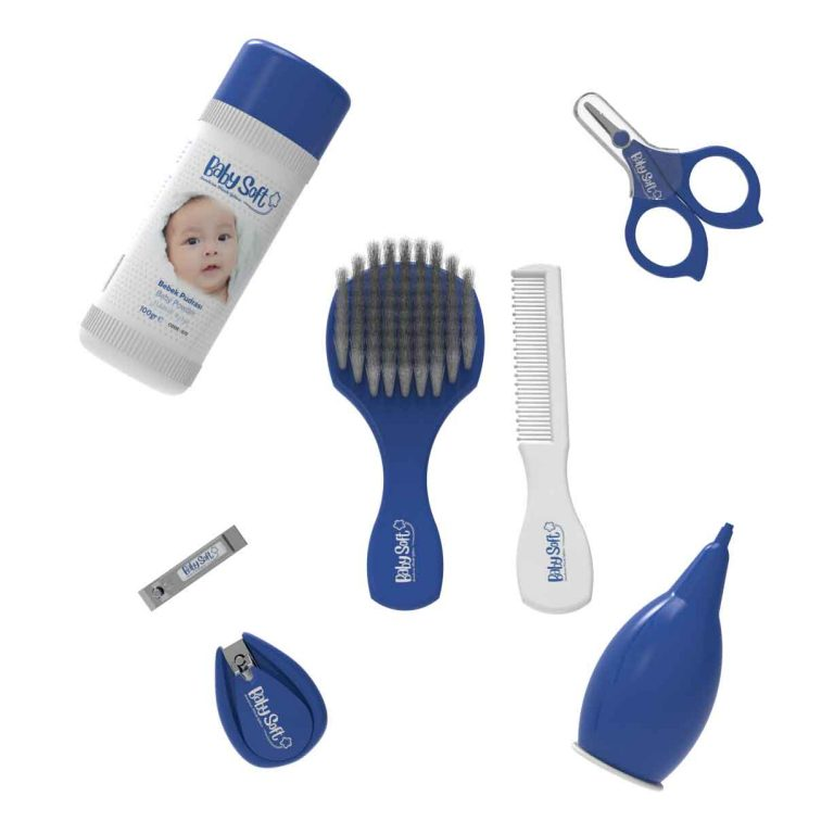 Bebek bakım ürünleri , bebek tırnak makası,bebek tarağı , bebek pudrası
